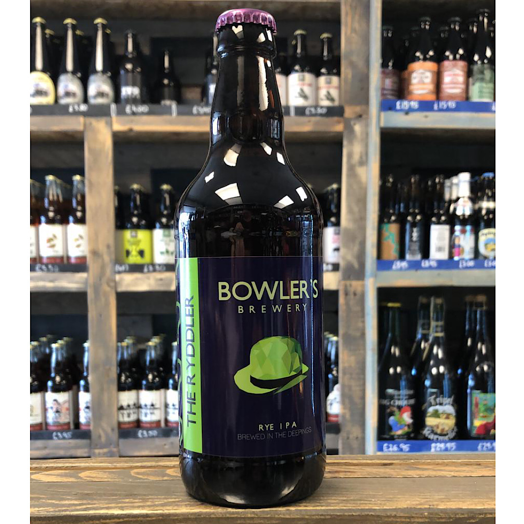 Rye IPA - The Ryddler 6.4% 500ml Bowlers Brewery