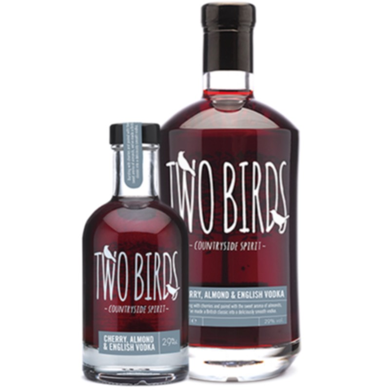Two Birds Cherry & Almond Vodka 29% 200ml & 700ml