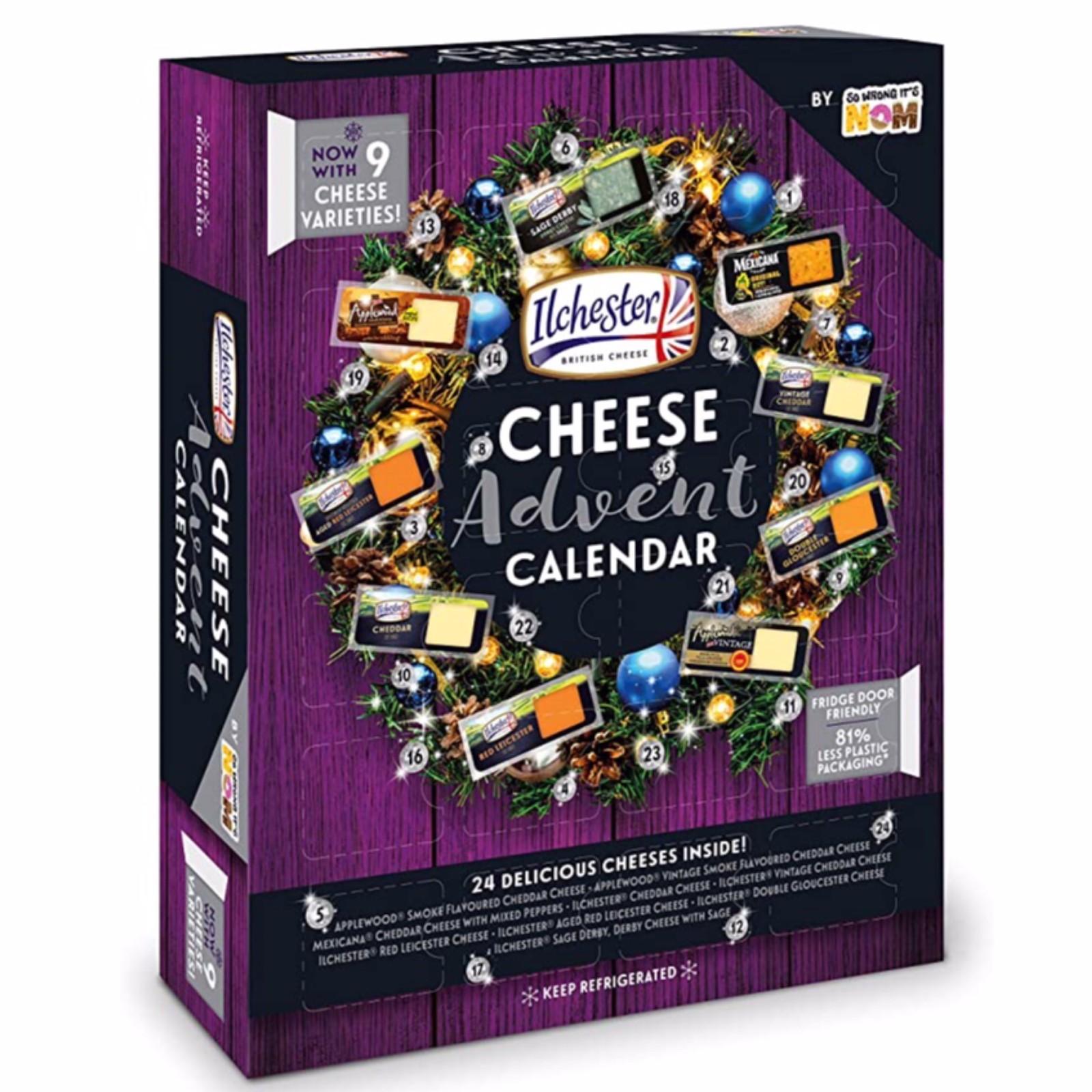 Cheese Advent Calendar 24x20g=480g