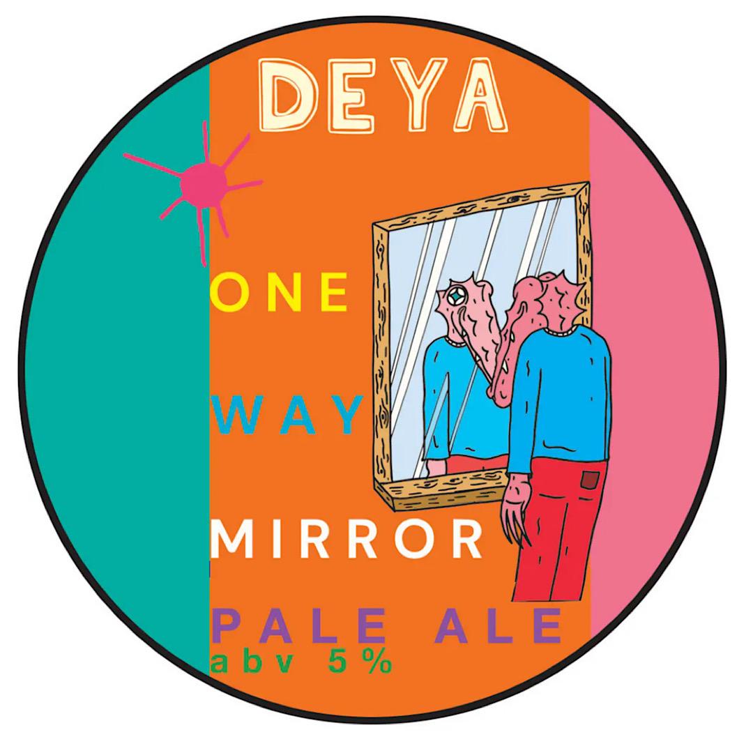 One Way Mirror - Pale Ale 5% 500ml Deya Brewing