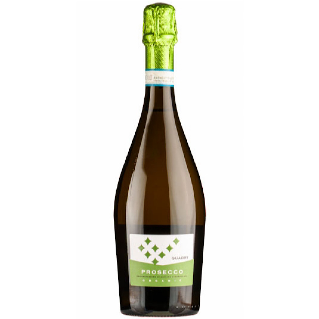 NV Quadri Prosecco DOC Organic, 11% 750ml Botter