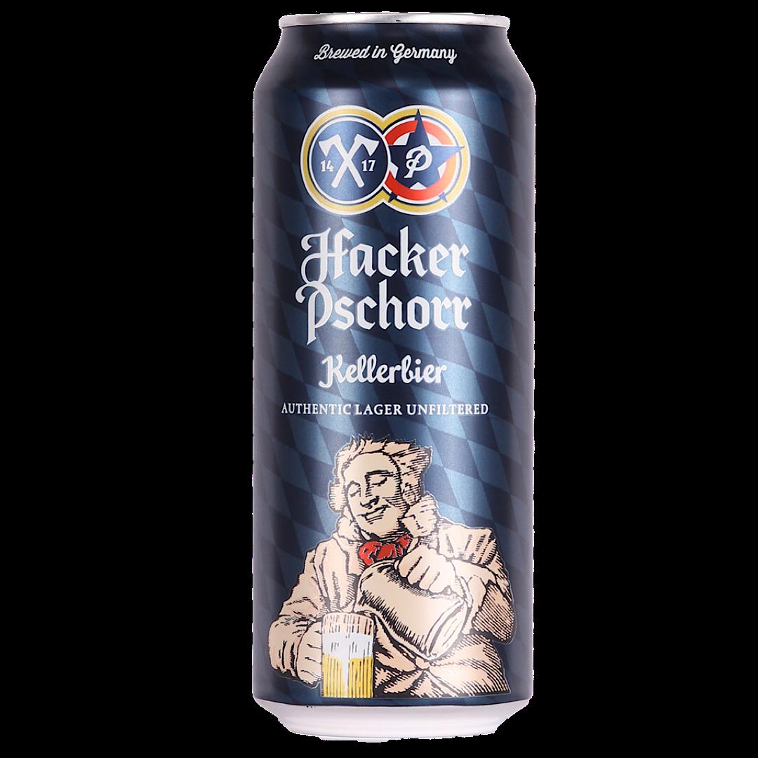 Hacker Pschorr Can Anno 1417 Munich Keller Bier 5.5% 500ml