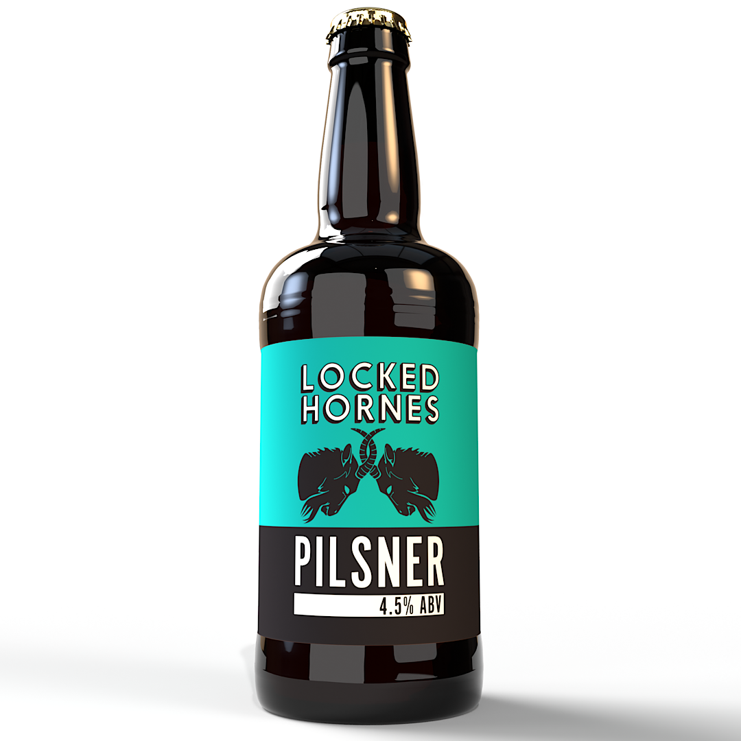 Locked Hornes Pilsner 4.5% 500ml Hornes Brewery