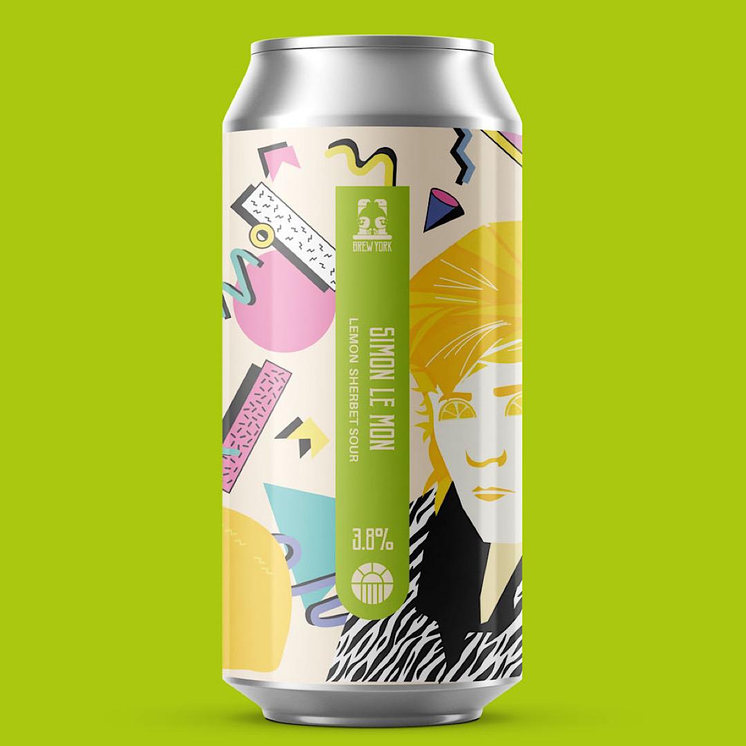 Simon Le Mon Sherbert Sour - 3.8% 440ml Brew York