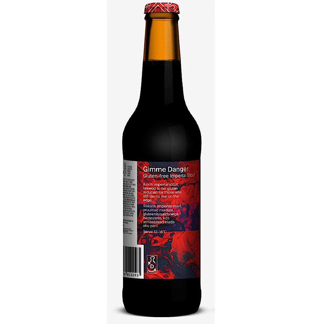 Gimme Danger – Gluten-free Imperial Stout - 10.5% 330ml Pohjala Brewing