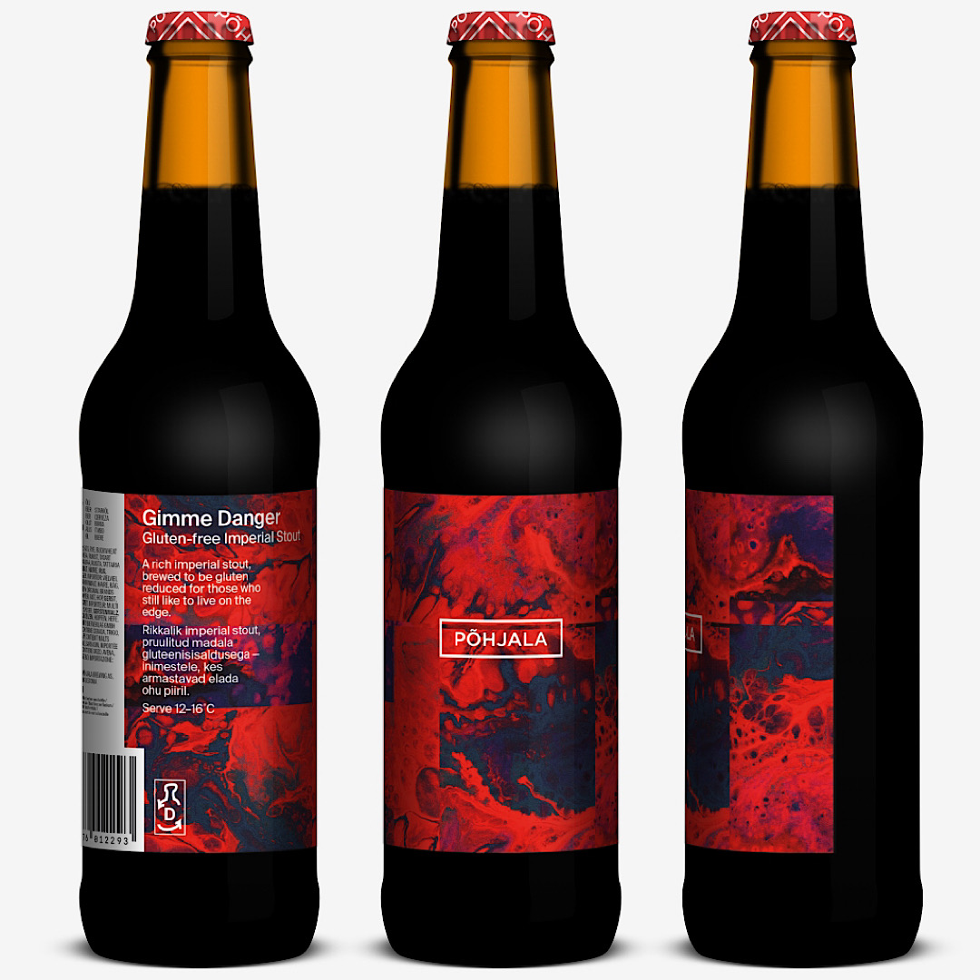 Gimme Danger – Gluten-free Imperial Stout - 10.5% 330ml Pohjala Brewing