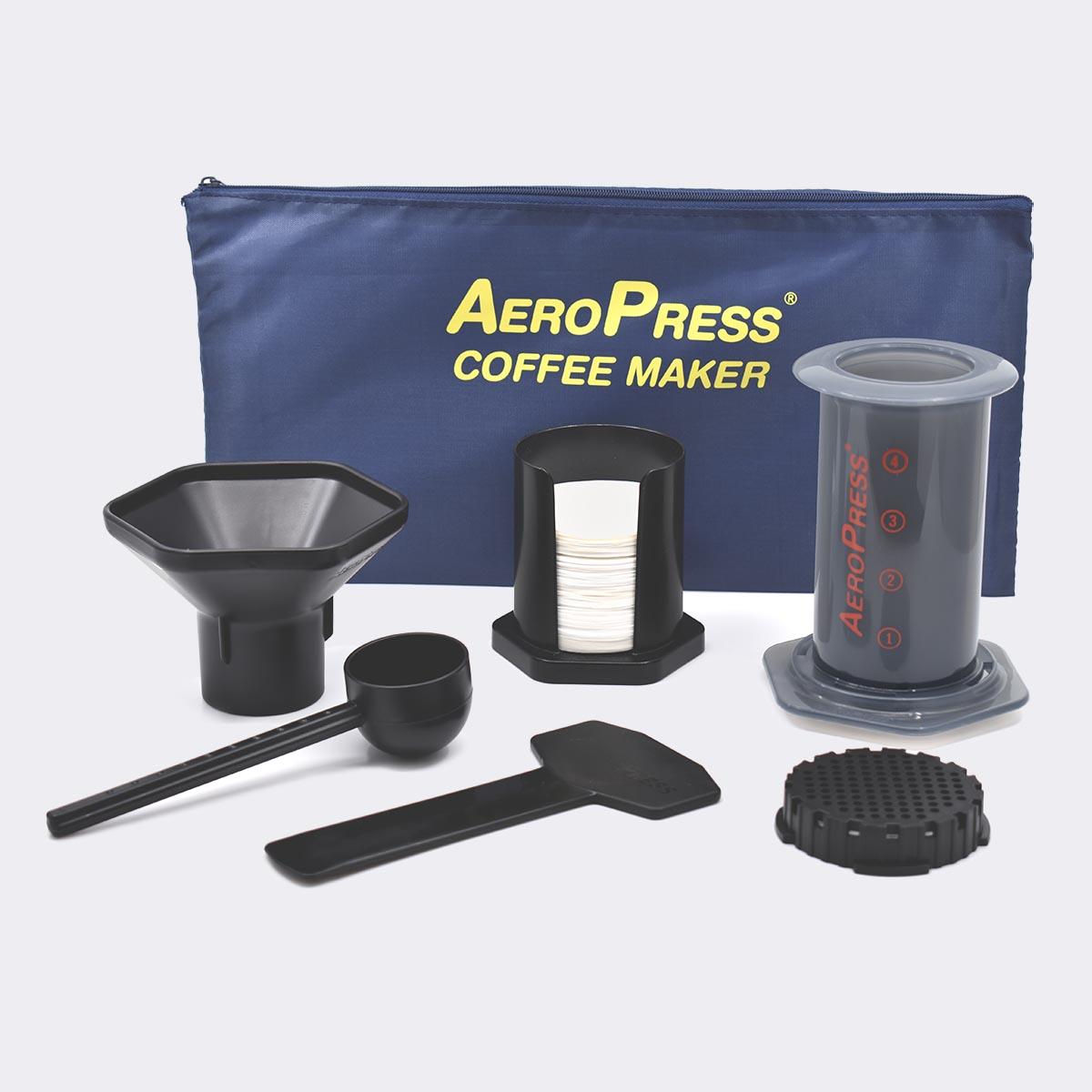 AEROPRESS COFFEE MAKER +TOTE BAG + 350 filters