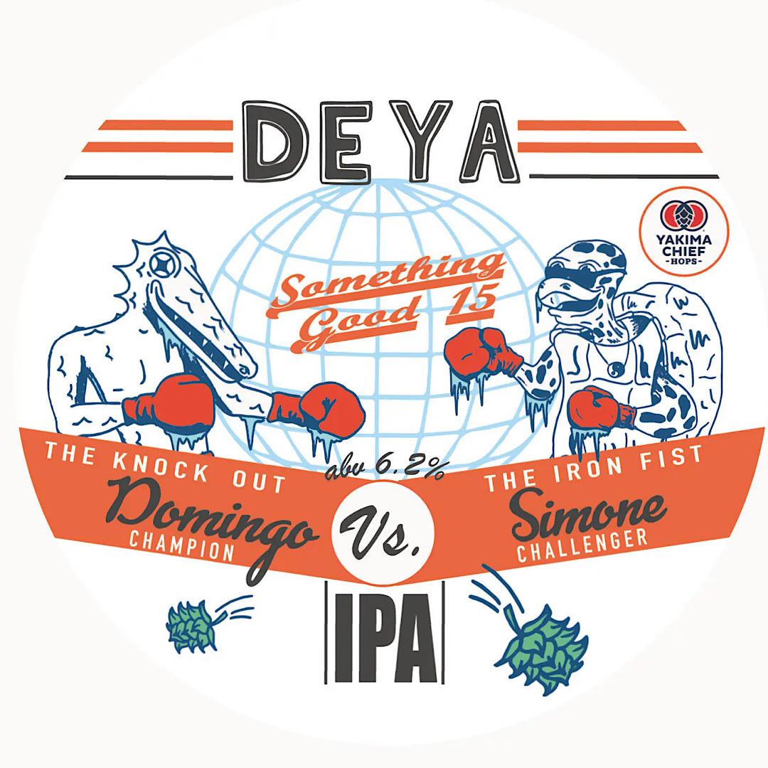 Something Good 15 IPA 6.2% Deya Brewing Co