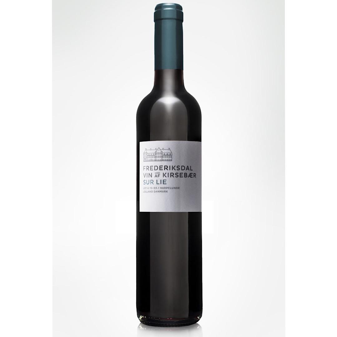 Sur Lie - Sweet Cherry Wine 14.5% 500ml  Frederiksdal Kirsebærvin