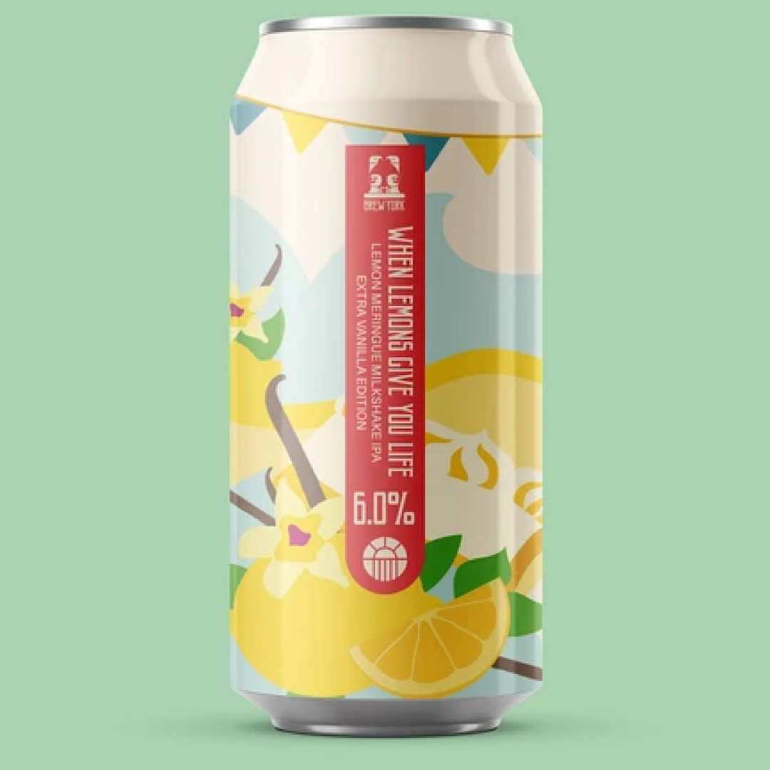 When Lemons Give You Life - Extra Vanilla Edition 6% 440ml Brew York