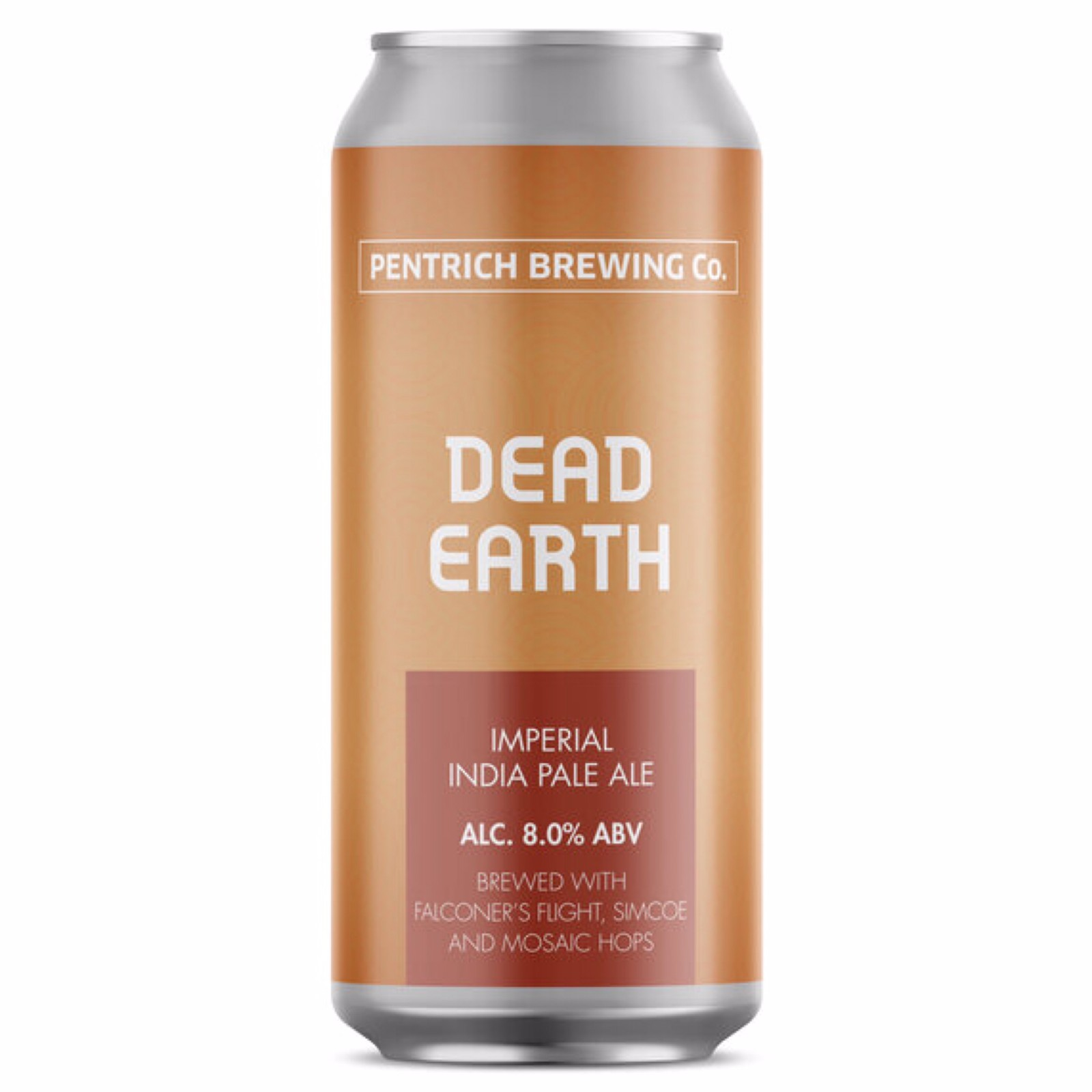 Dead Earth - Imperial IPA 8% 440ml Pentrich Brewing Co
