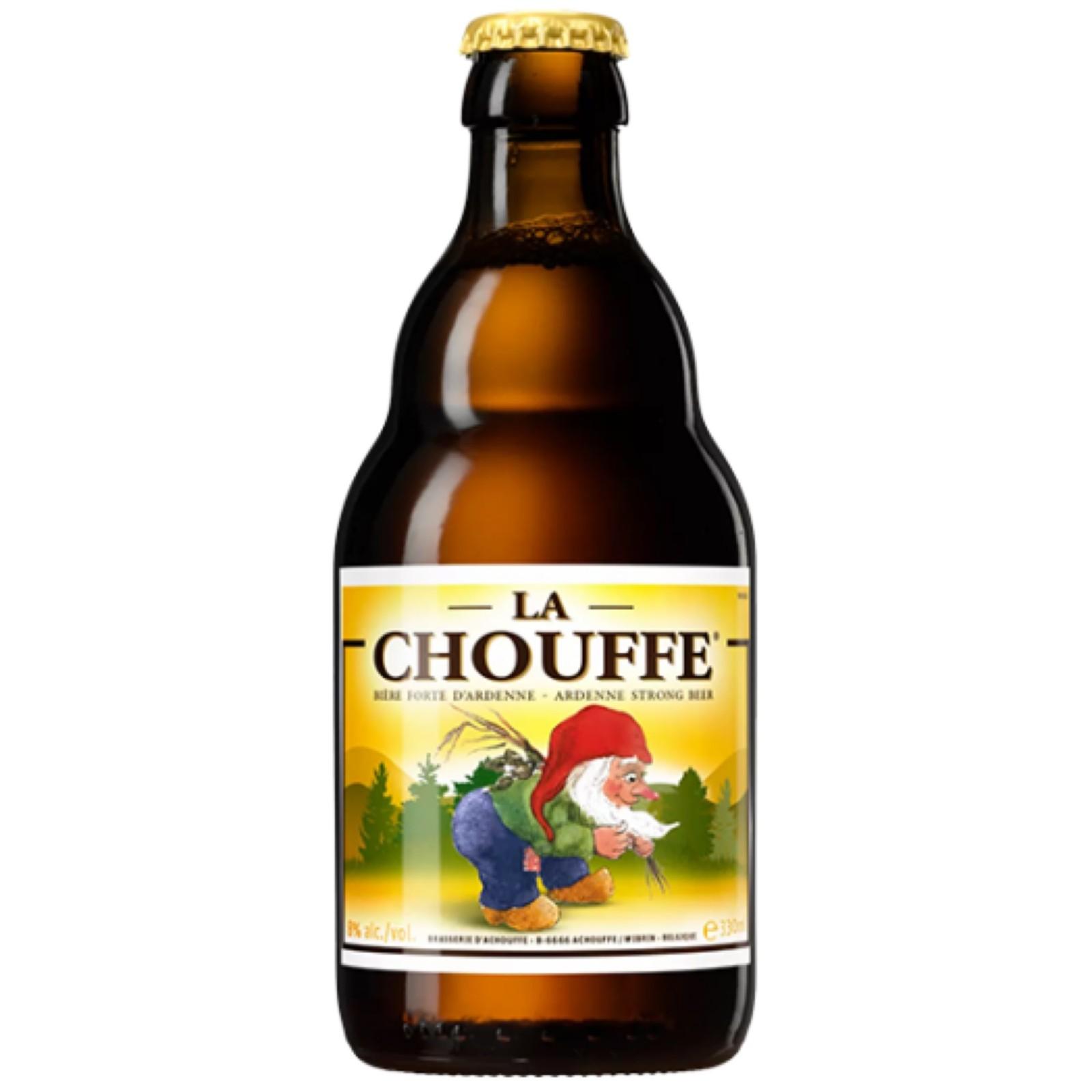 La Chouffe Blonde Saison 8% 330ml Brasserie d'Achouffe