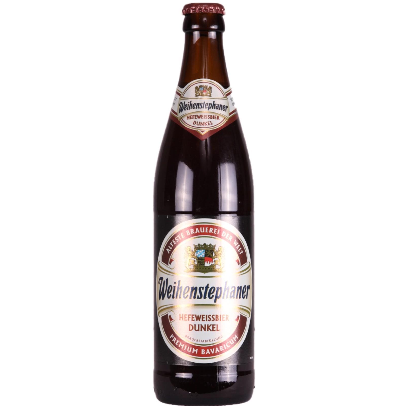 Weihenstephaner Hefeweissbier Dunkel 5.3% 500ml