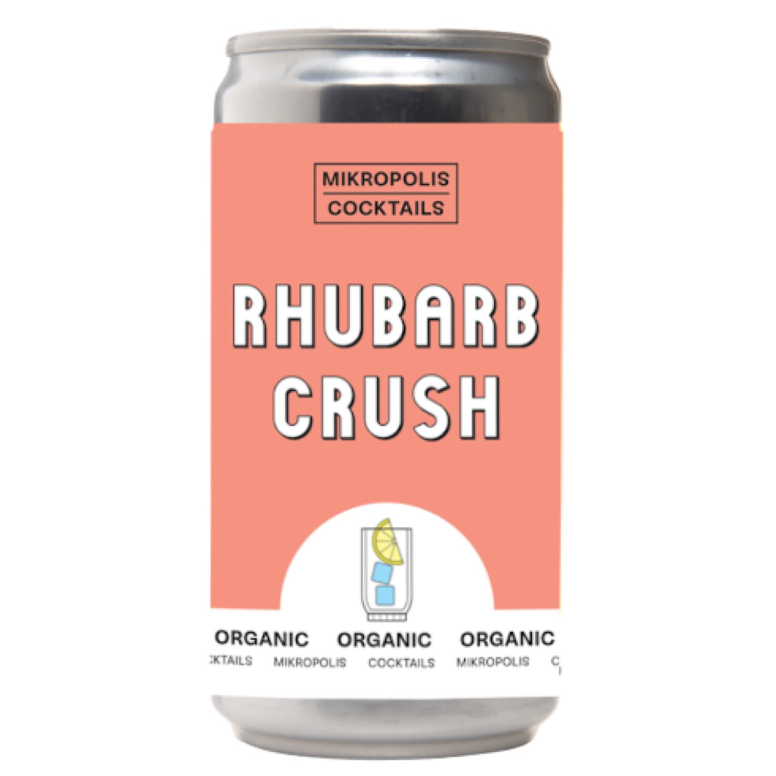 Rhbarb Crush 6.5% 250ml Mikropolis Cocktails