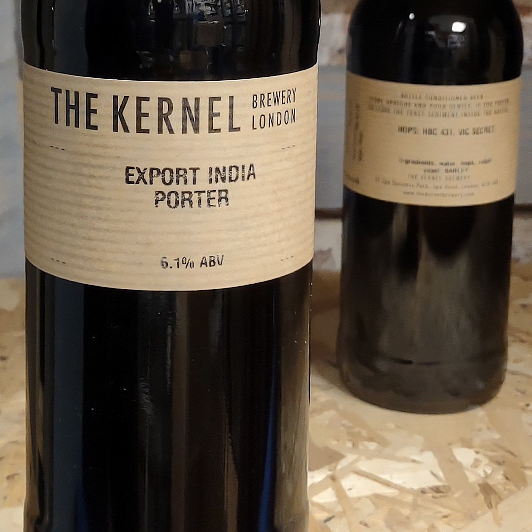 Export India Porter - 6.1% 500ml The Kernel Brewery