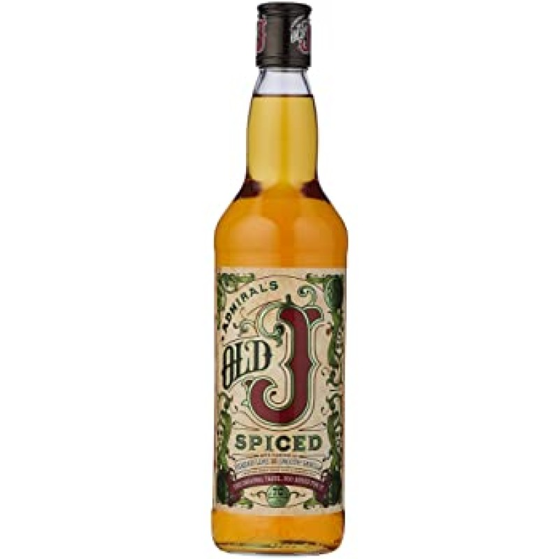 Old J Spiced Rum 35% 700ml Admiral's