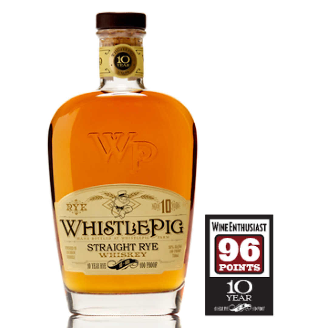 WHISTLEPIG 50ml 50% 10 Year Old Straight Rye Whiskey