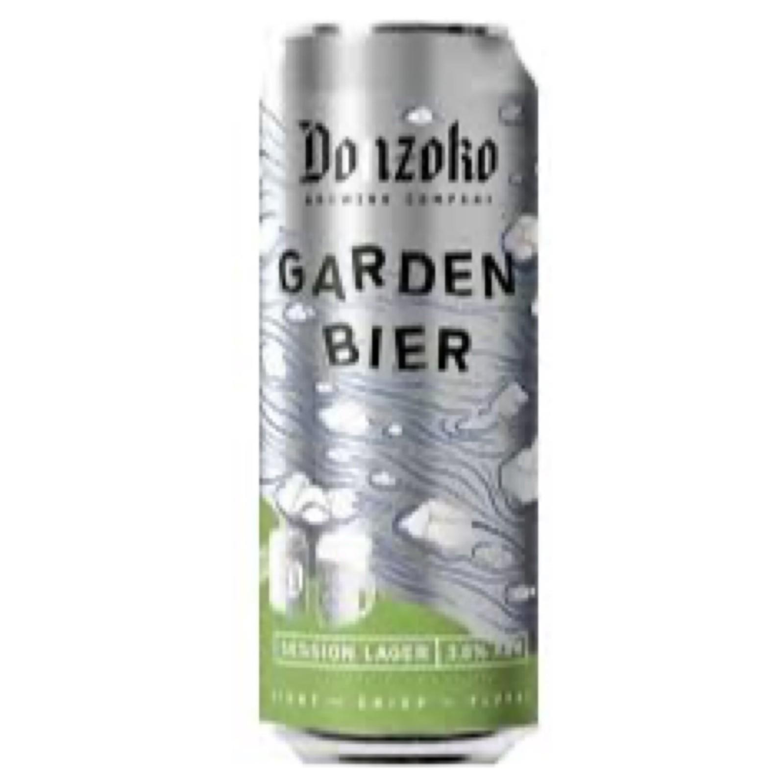Garden Bier Session Lager 3.8% 500ml Donzoko Brewing