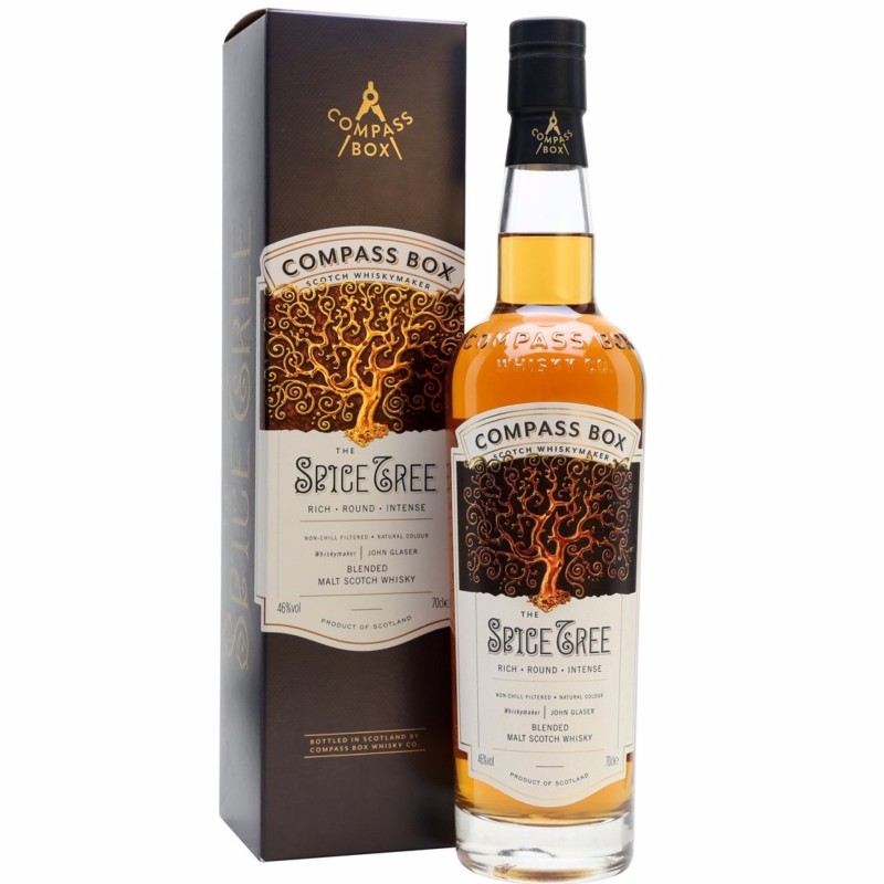 The Spice Tree - Blended Malt Scotch Whisky 46% 700ml  Compass Box