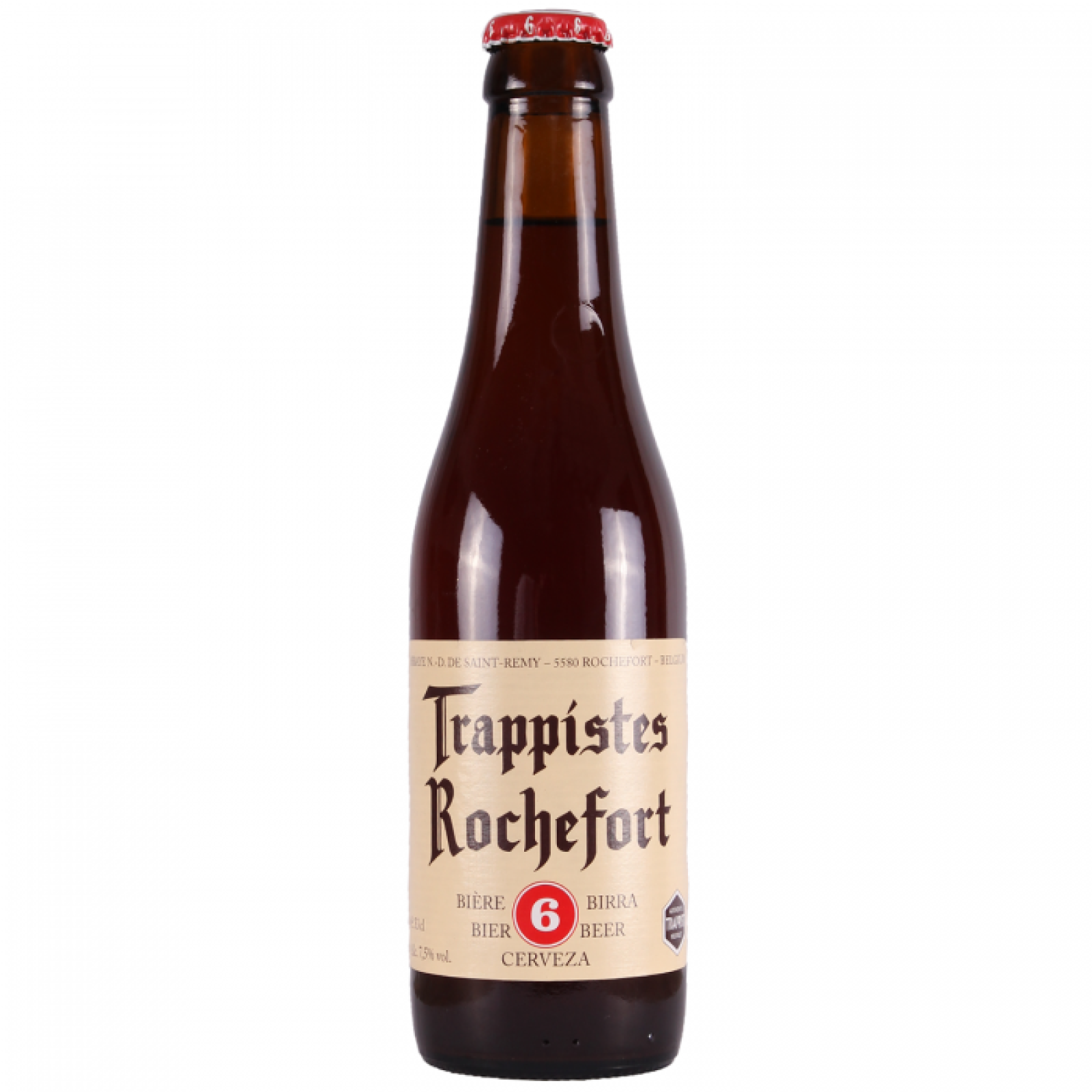 Rochefort 6 Amber Trappist Beer 7.5% 330ml