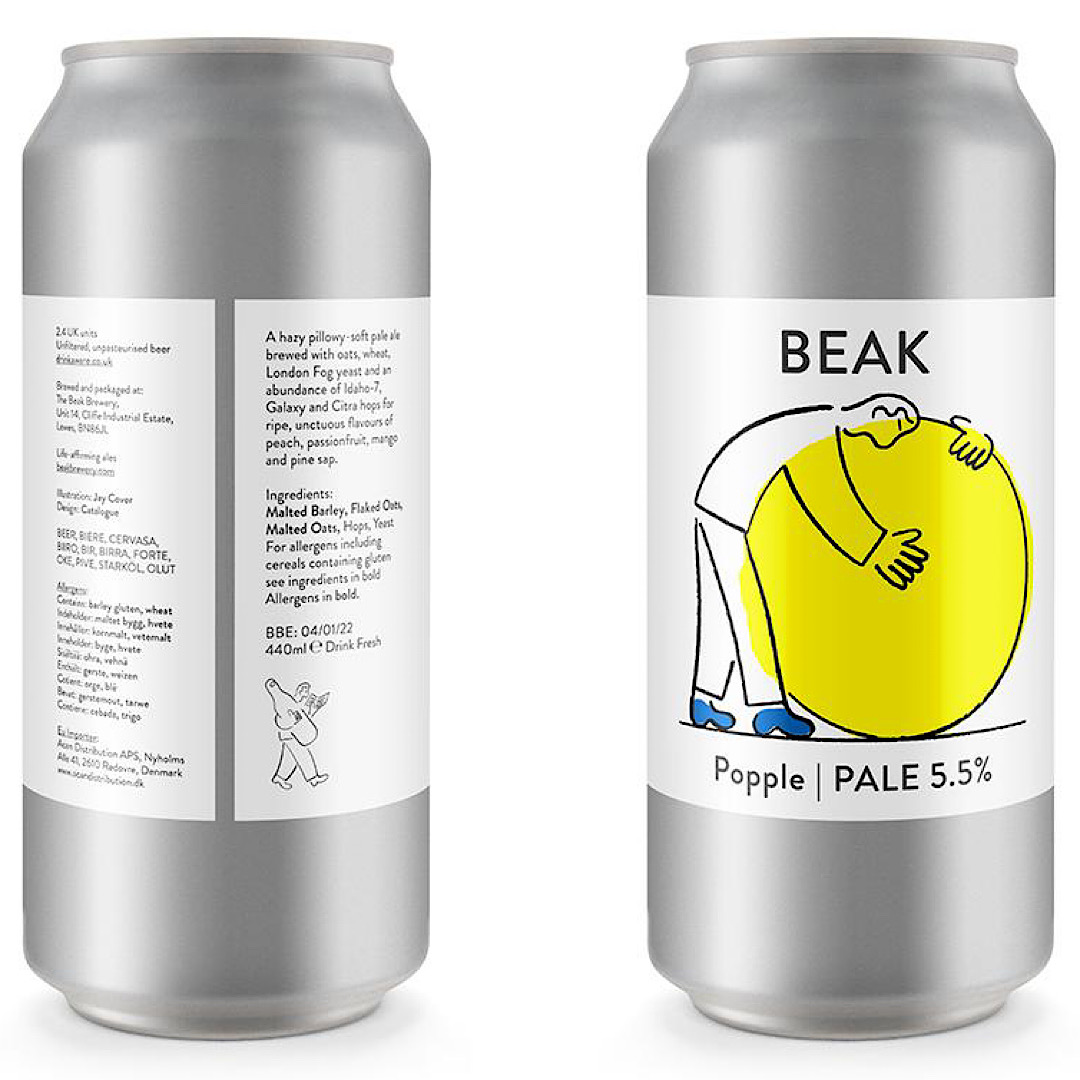 Popple - Pale Ale 5.5% 440ml Beak Brewery