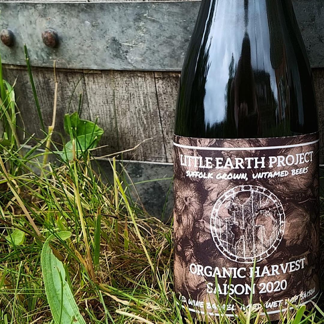 Organic Harvest Saison 2020 - Red Wine BA 7.2% 375ml Little Earth Project