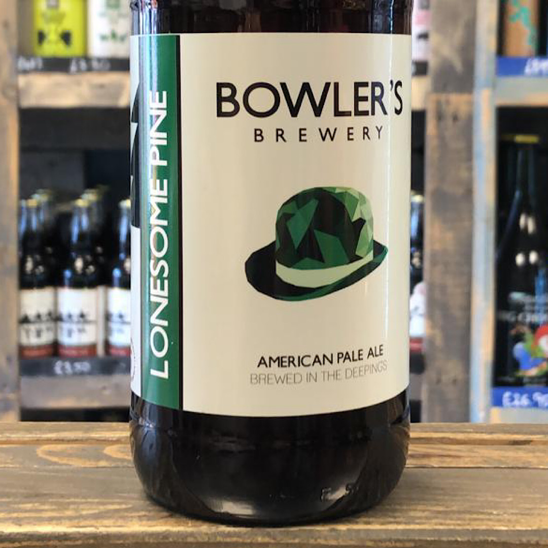 American Pale Ale - Lonesome Pine 5.7% 500ml Bowlers Brewery