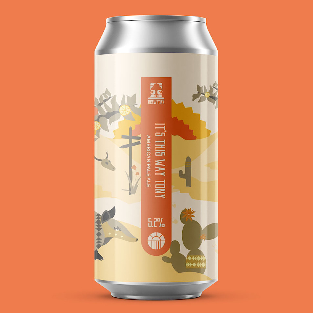 It's This Way Tony - American Pale Ale 5.2% 440ml Brew York