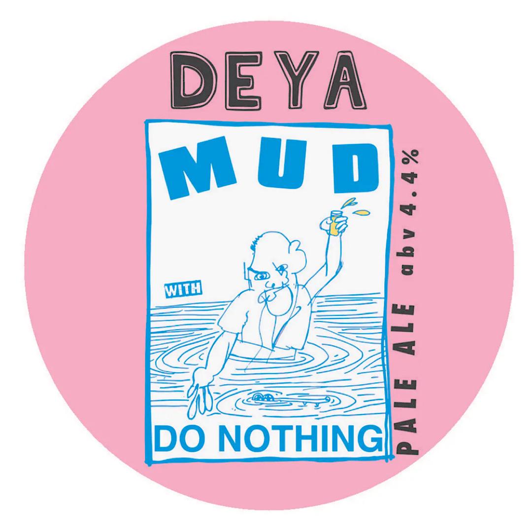 MUD - Pale Ale 4.4% 500ml Deya x Do Nothing
