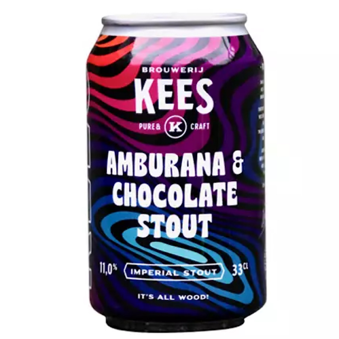 Ambura & Chocolate  Imperial Double Pastry Stout 11% 330ml Kees Brewery