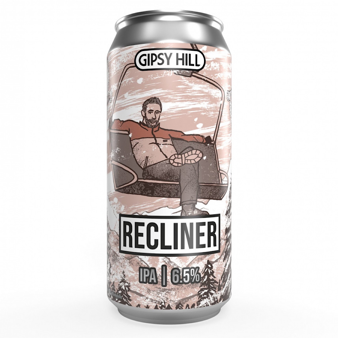 Recliner - NE IPA 6.5% 440ml Gipsy Hill