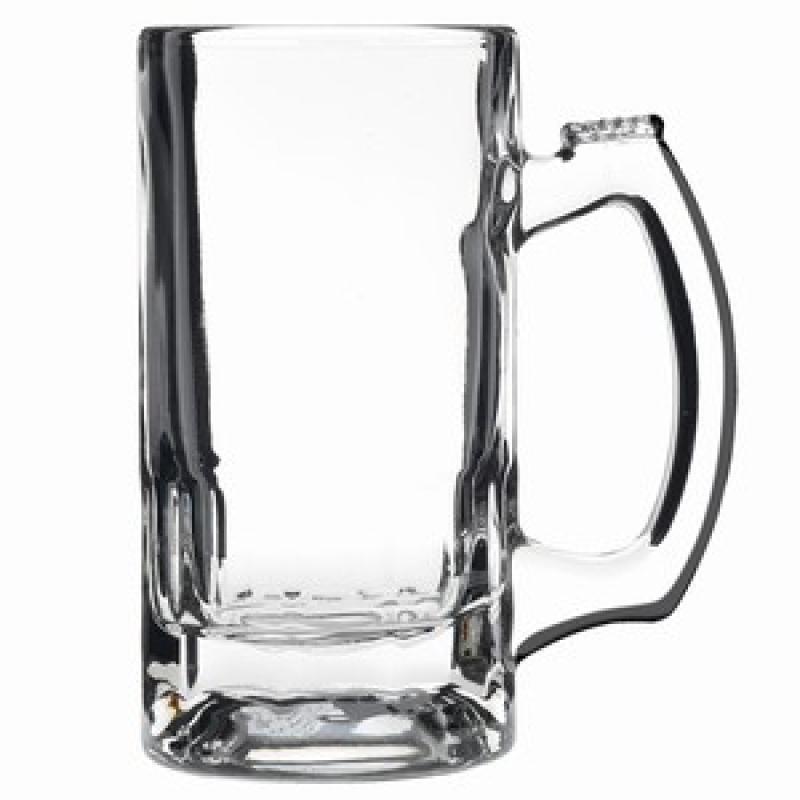 Trigger Beer Mugs 340ml Glass