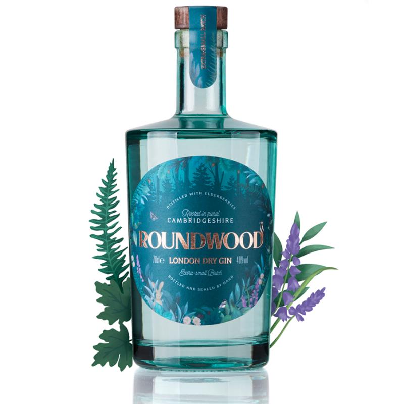 Roundwood London Dry Gin 40% 700ml