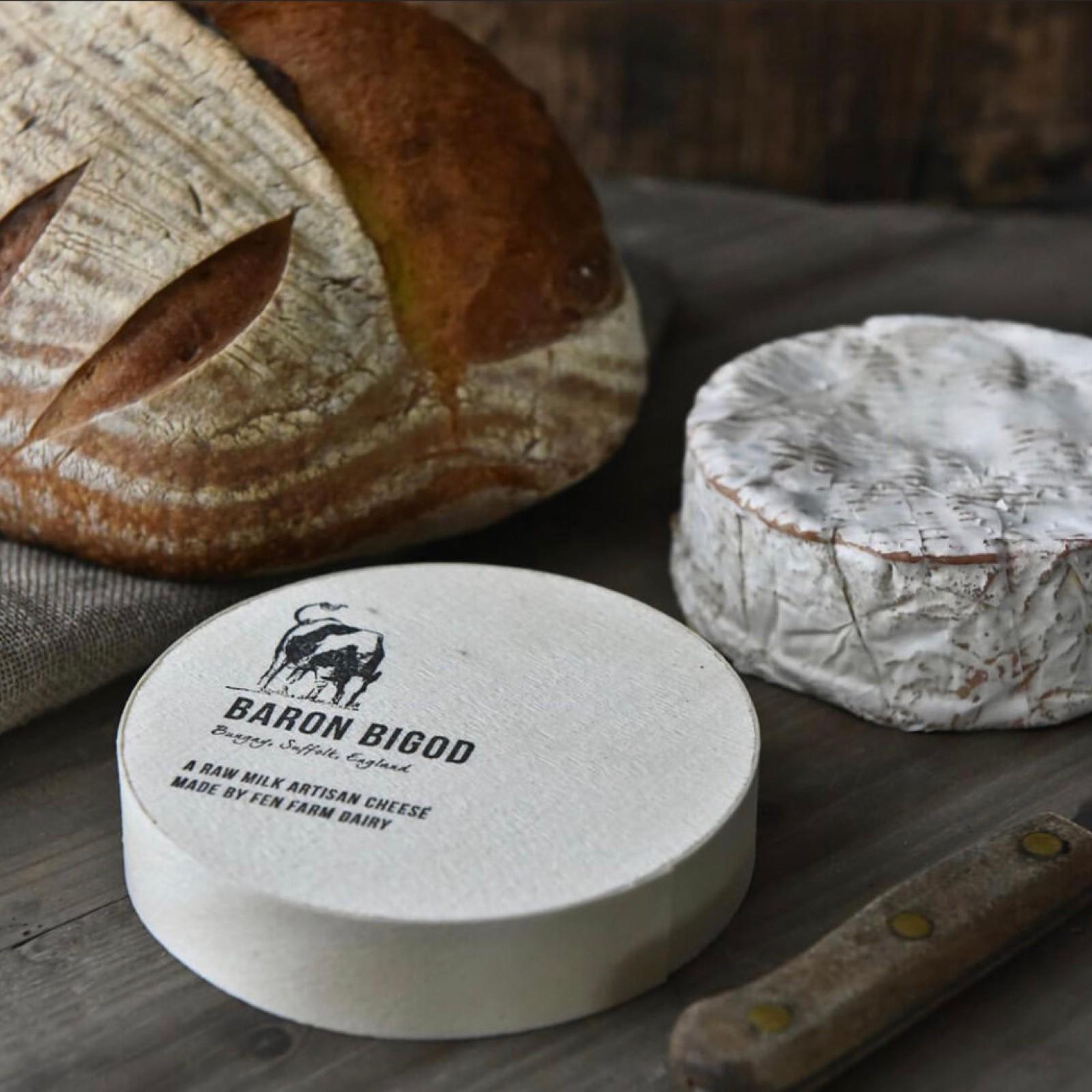 Baron Bigod 250g - Raw milk artisan cheese Brie Style