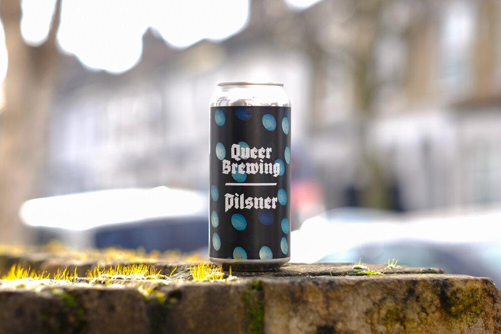 Tiny Dots - Pilsner 4.5% 440ml Queer Brewing
