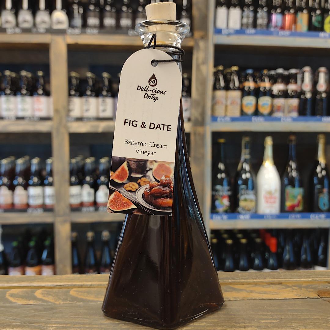 Fig & Date Balsamic Cream Vinegar 100ml Barrel Aged Balsamic Vinegar from Modena