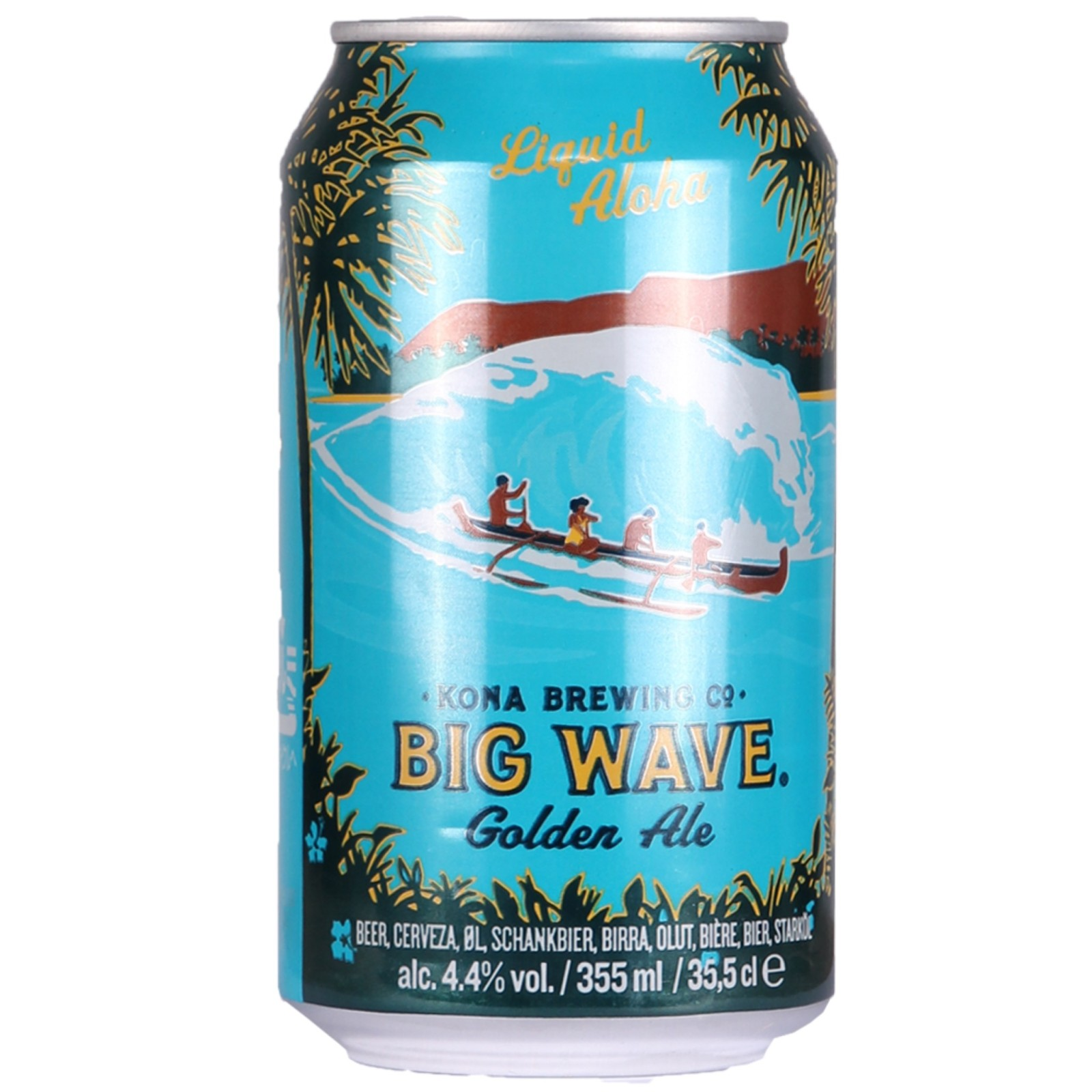 Big Wave Golden Ale 4.4% 355ml Kona Brewing