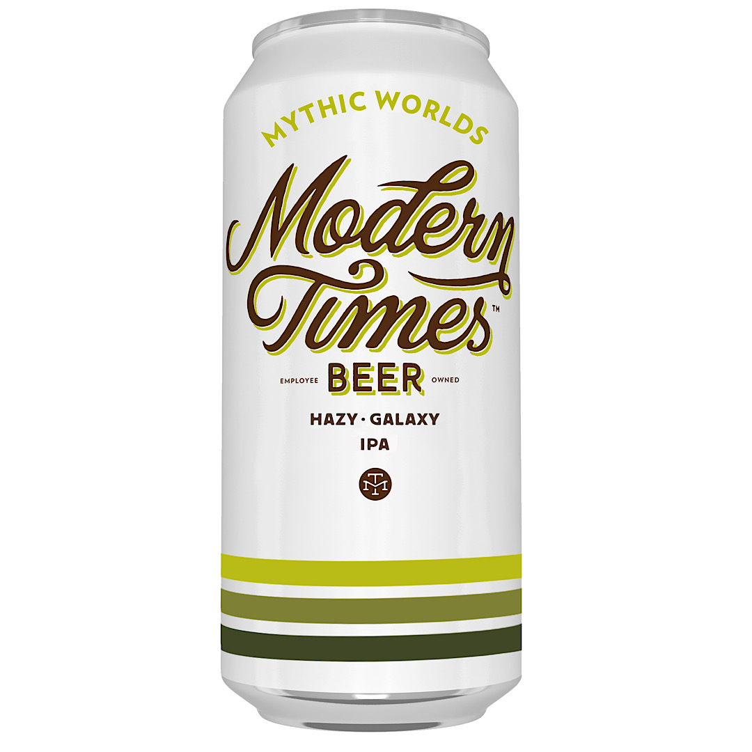 MYTHIC WORLDS - Hazy Galaxy IPA 7.5% 473ml Modern Times Beer