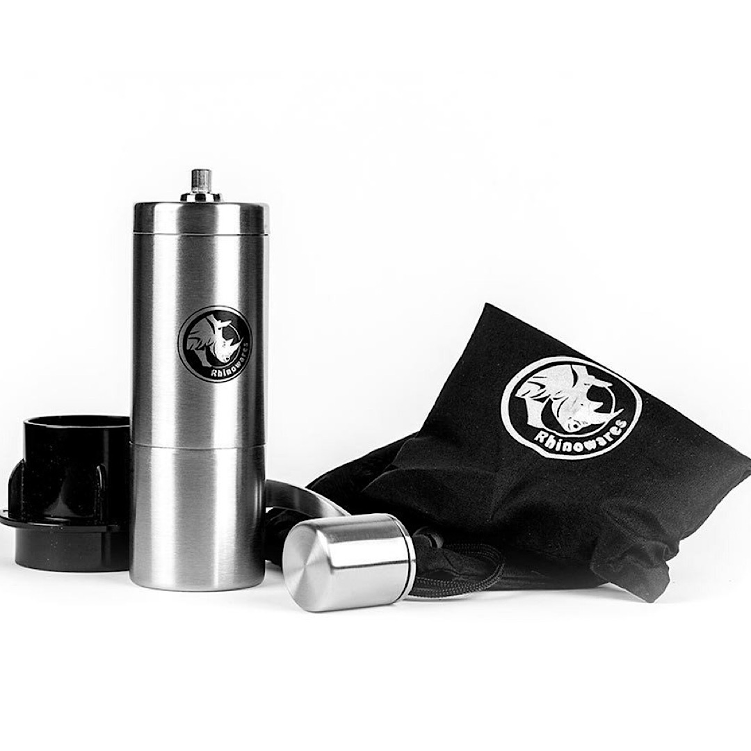 Rhinowares Coffee Grinder - Aeropress Compatible