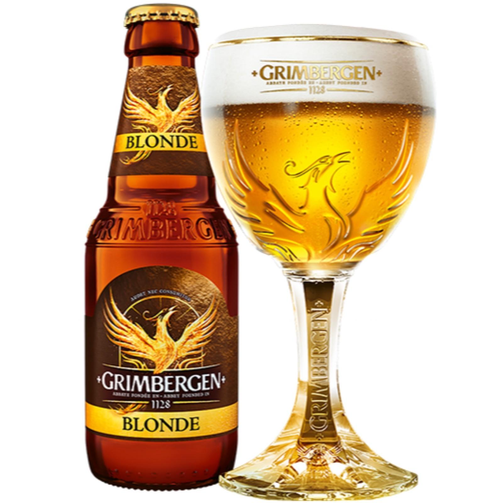 Grimbergen Blonde 6.7% 330ml
