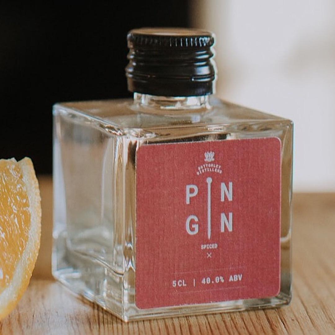 Spiced - Pin Gin 40% 50ml (miniature)
