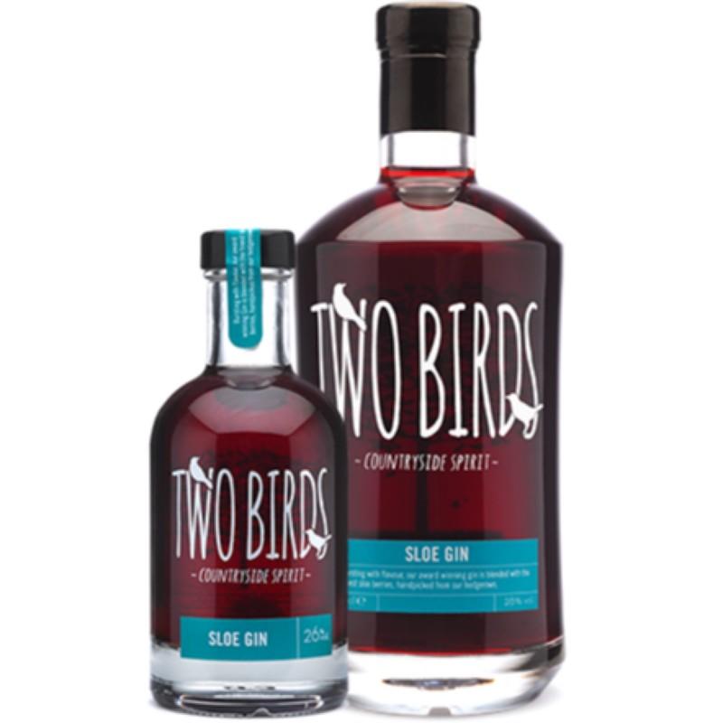 Two Birds Sloe Gin 26% 200ml & 700ml