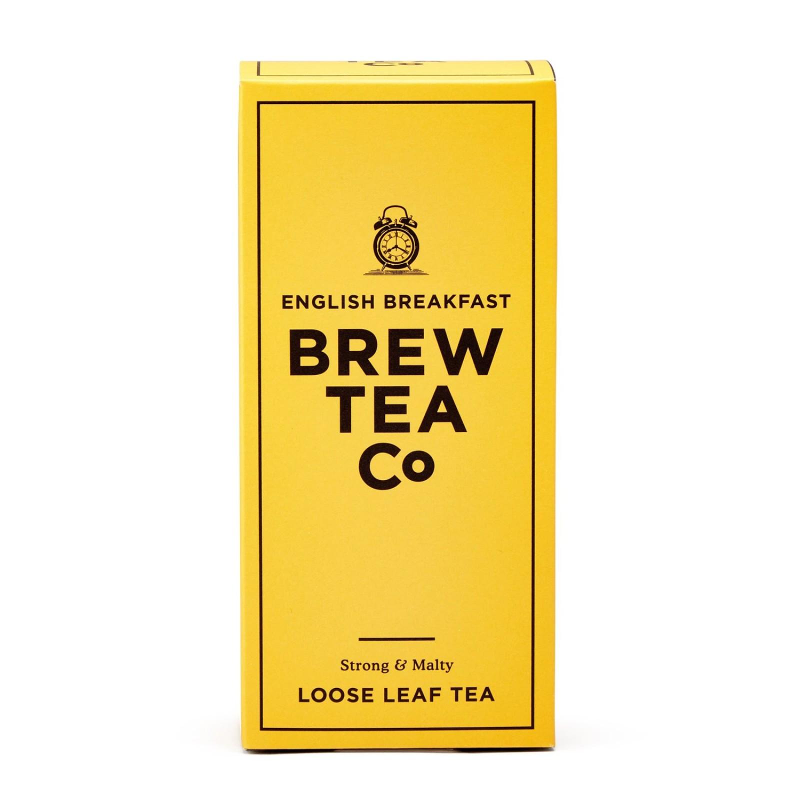 English Breakfast - Loose Leaf Tea 113g Brew Tea Co