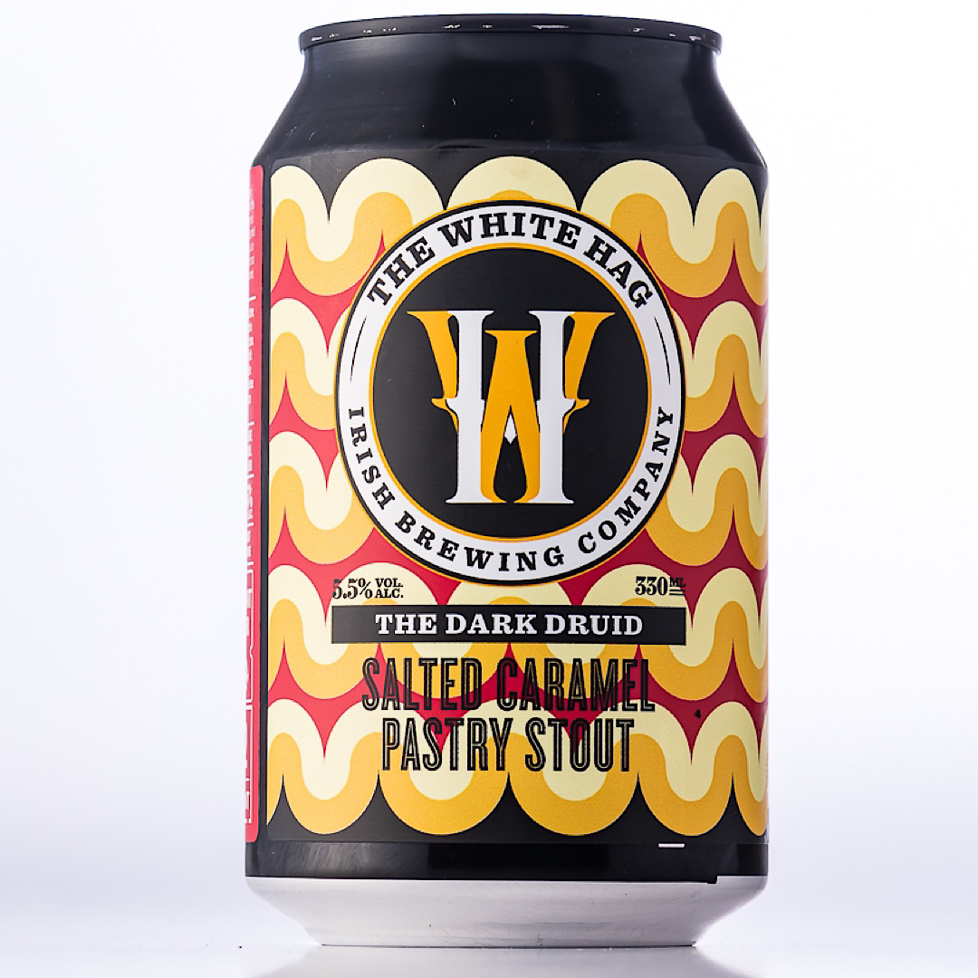 The Dark Druid - Salted Caramel Pastry Stout 5.5% 330ml The White Hag Brewing Company