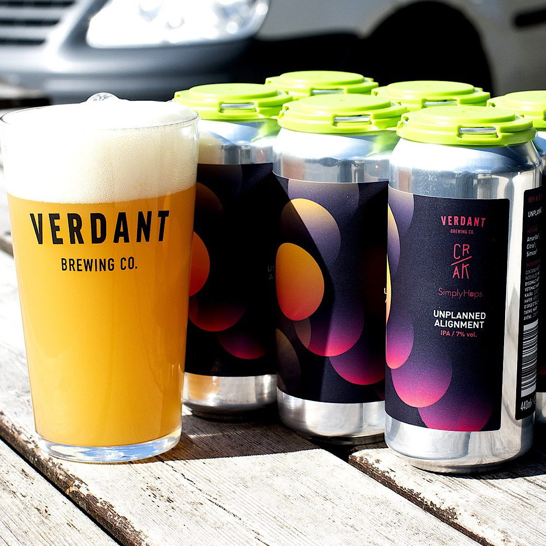 Unplanned Alignment - IPA 7% 440ml Verdant Brewing x CR/AK x Simply Hops
