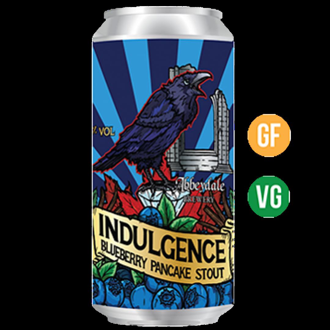 Indulgence - Blueberry Pancake Stout 7% 440ml Abbeydale Brewery