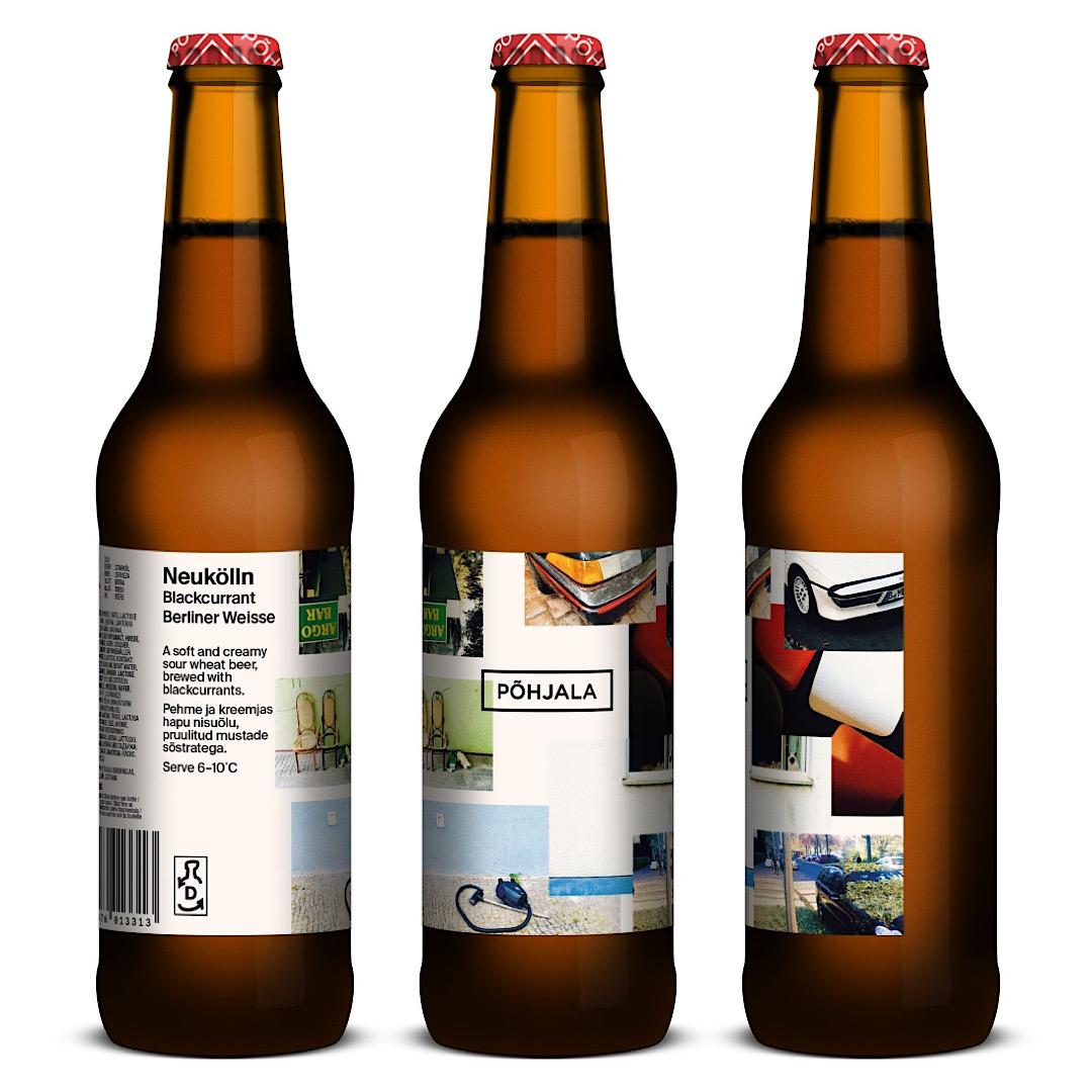 Neukölln - 5.5% 330ml Blackcurrant Berliner Weisse Pohjala Brewing