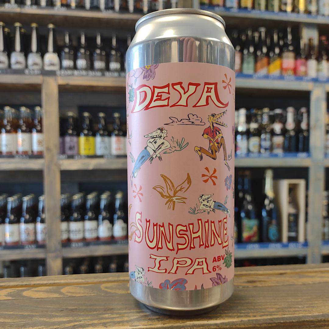 SUNSHINE - IPA 6% 500ml Deya Brewing Company