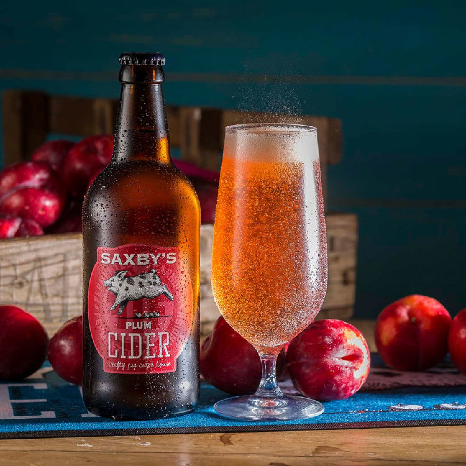 Saxby's Plum Cider 3.8% 500ml & 3litre Bag In The Box