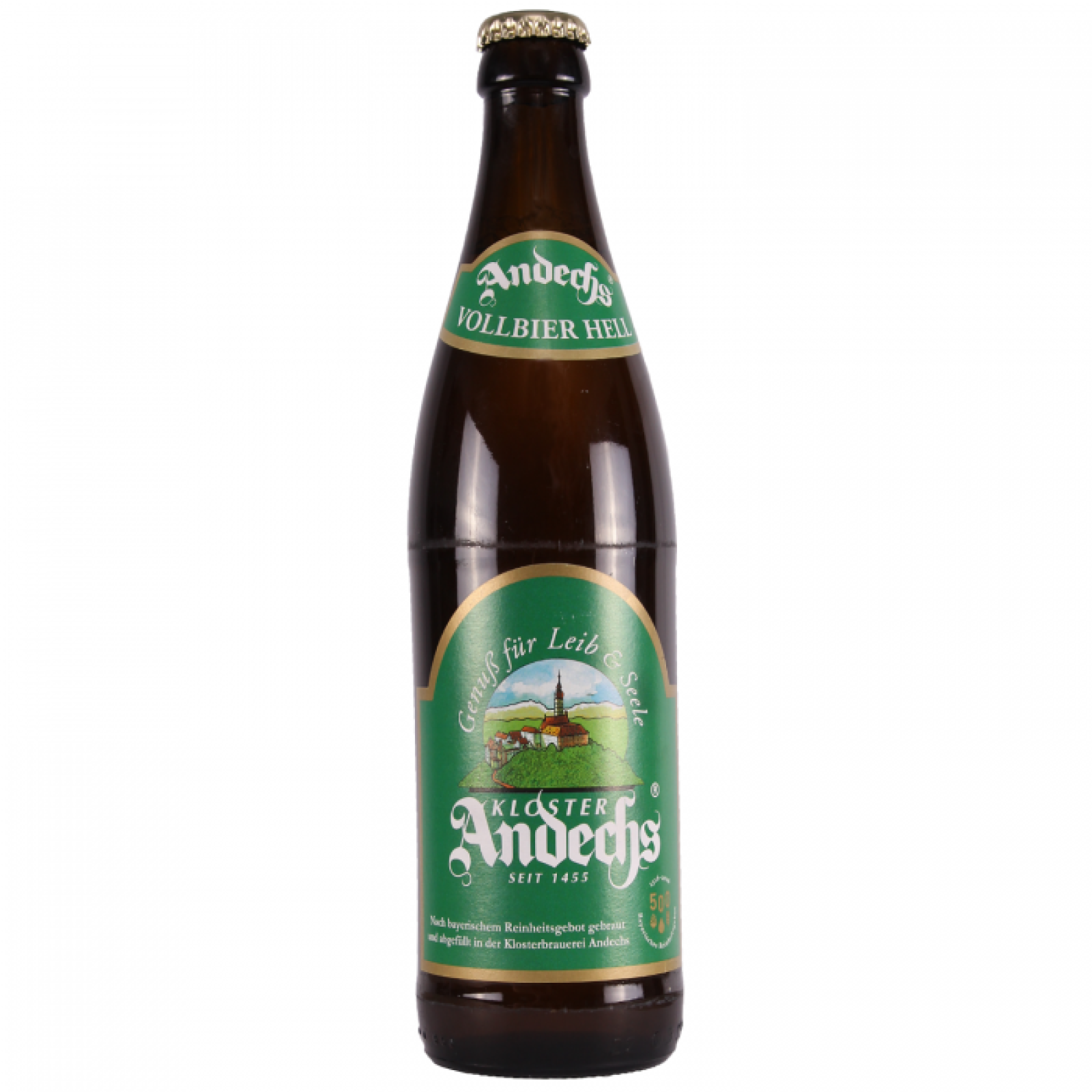 Andechs Vollbier Hell 4.8% 500ml